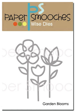 Paper Smooches GARDEN BLOOMS Wise DIes J2D389 Preview Image