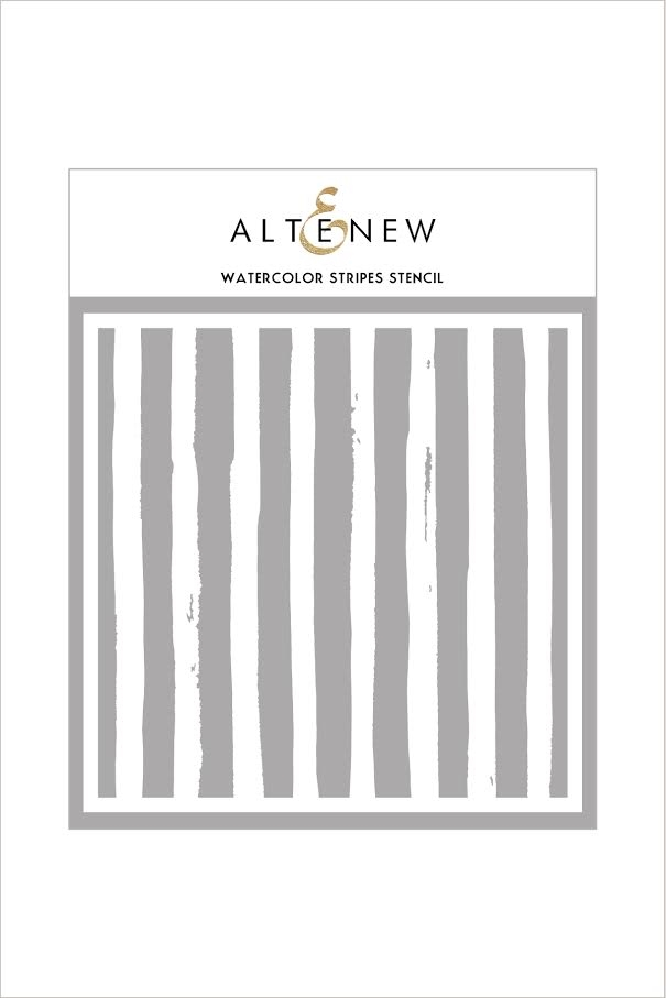 Altenew WATERCOLOR STRIPES Stencil ALT1739 zoom image
