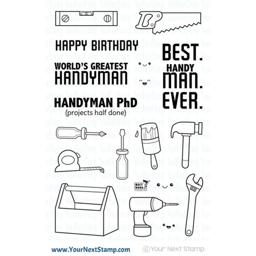Your Next Stamp HANDYMAN Clear CYNS573 Preview Image