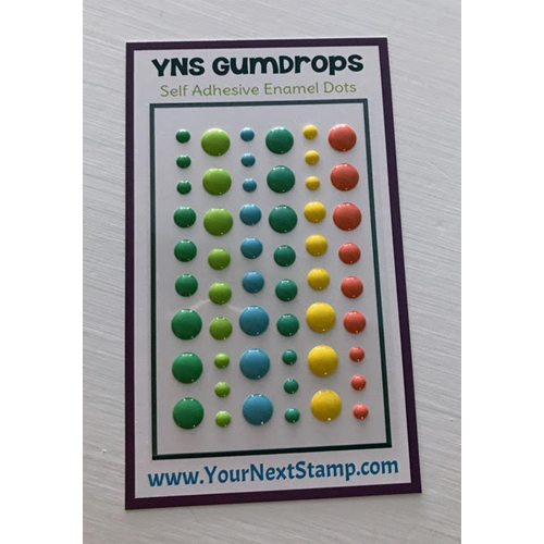 Your Next Stamp TROPICAL PARADISE Gumdrops YNSGD083 Preview Image