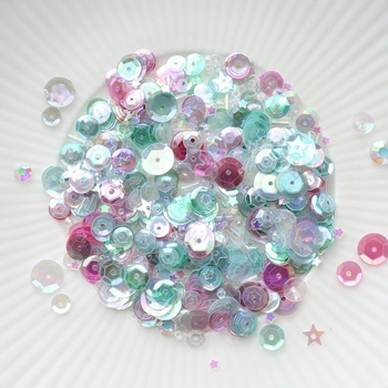 Little Things From Lucy's Cards ENCHANTING Sequin Shaker Mix LB140