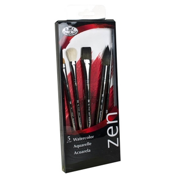 Royal Langnickel ZEN WATERCOLOR BRUSH Set RZENSET832