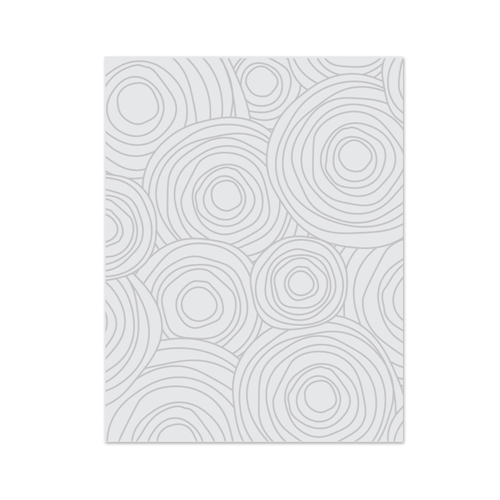 Simon Says Stamp Embossing Plate CIRCLE DOODLES SSSE301103 * Preview Image