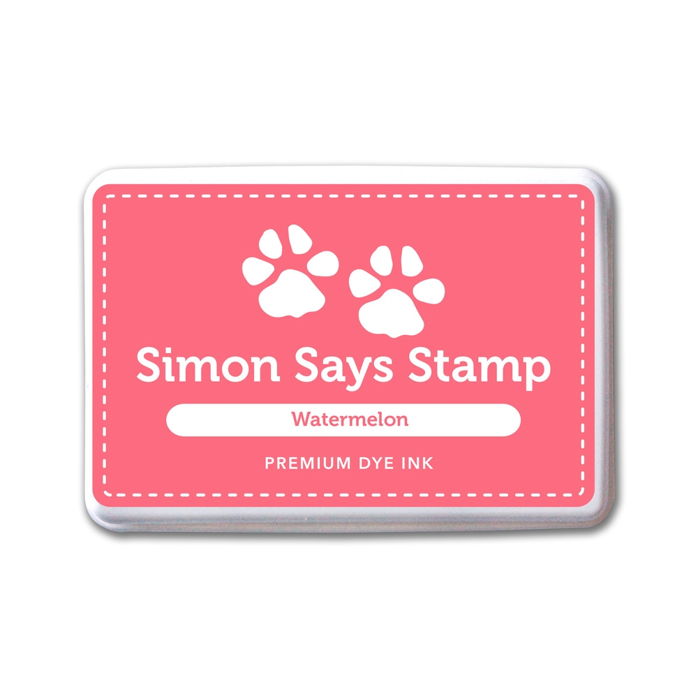 Simon Says Stamp Premium Dye Ink Pad WATERMELON INK077 One Of A Kind zoom image