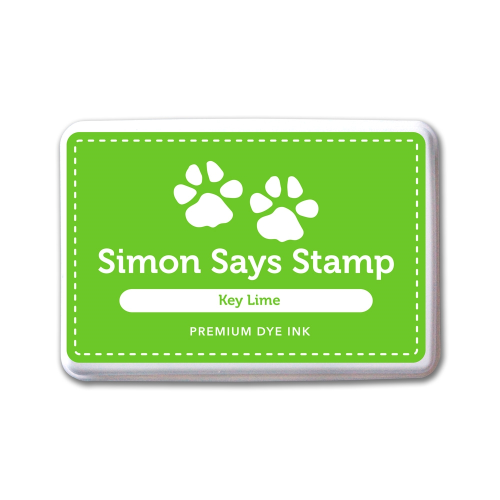 Simon Says Stamp Premium Dye Ink Pad KEY LIME INK078 One Of A Kind zoom image