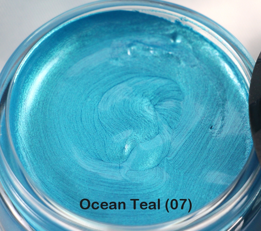 Cosmic Shimmer OCEAN TEAL Metallic Gilding Polish With Applicator 911882 zoom image