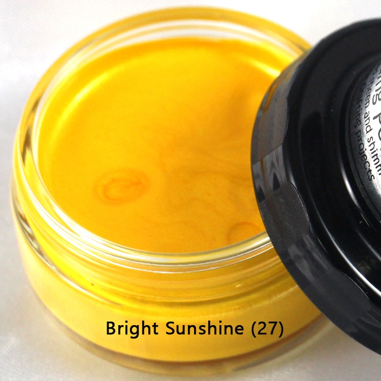 Cosmic Shimmer BRIGHT SUNSHINE Metallic Gilding Polish With Applicator 913770 zoom image