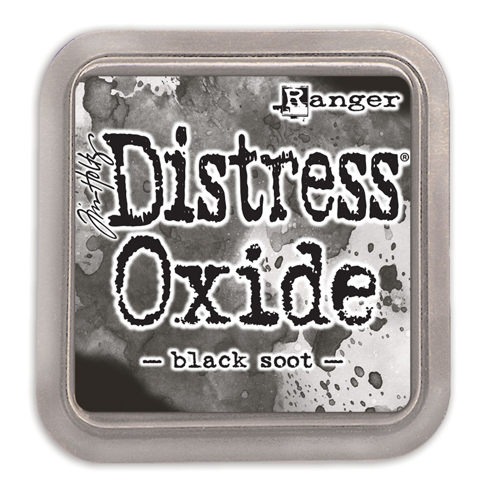 Tim Holtz Distress Oxide Ink Pad BLACK SOOT Ranger TDO55815 zoom image