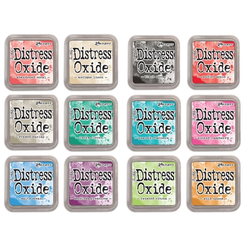 Tim Holtz Distress OXIDE INK PAD SET OF 12 Ranger Ranger102 Preview Image