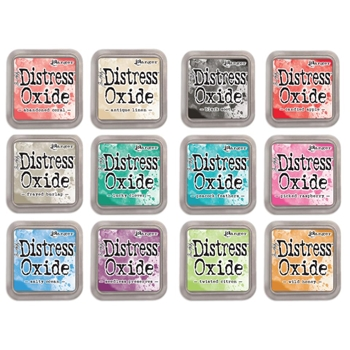 Tim Holtz Distress OXIDE INK PAD SET OF 12 Ranger Ranger102