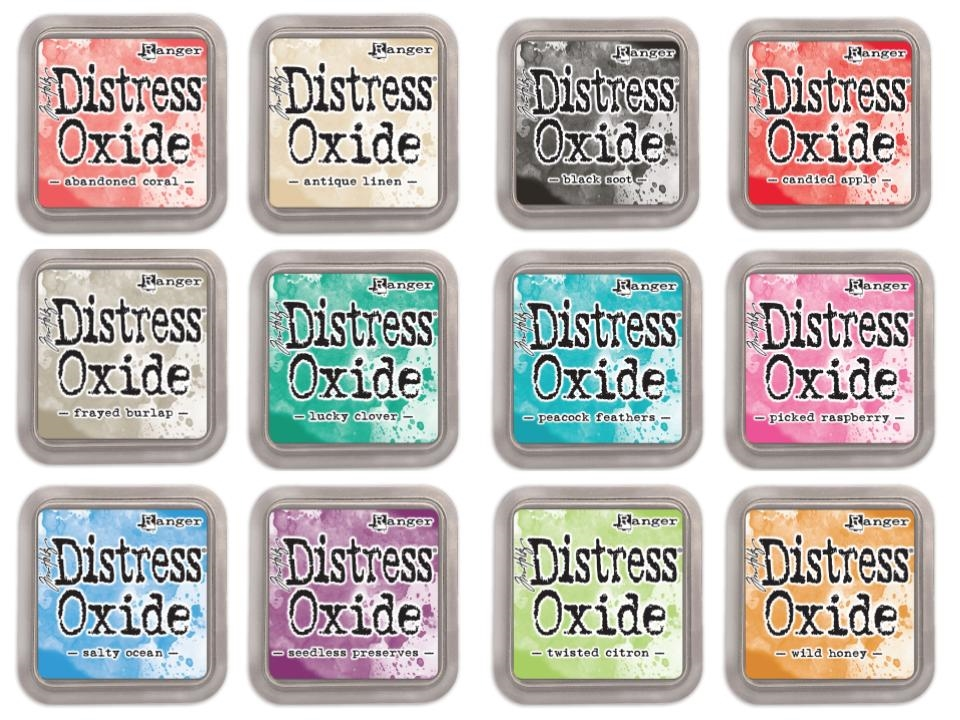 Tim Holtz Distress OXIDE INK PAD SET OF 12 Ranger Ranger102 zoom image