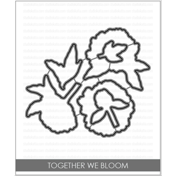 Studio Katia TOGETHER WE BLOOM Coordinating Dies STK032*