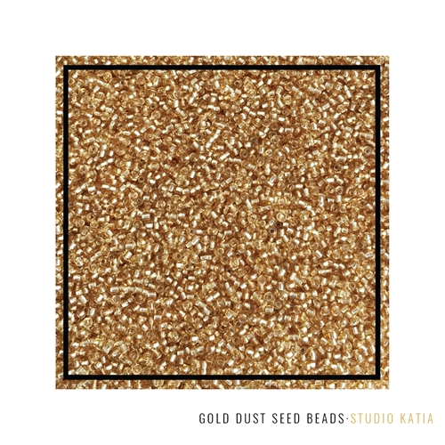 Studio Katia GOLD DUST Seed Beads SK2618 Preview Image