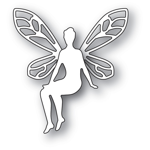 Poppy Stamps PATIENT FAERIE Craft Die 1893* Preview Image