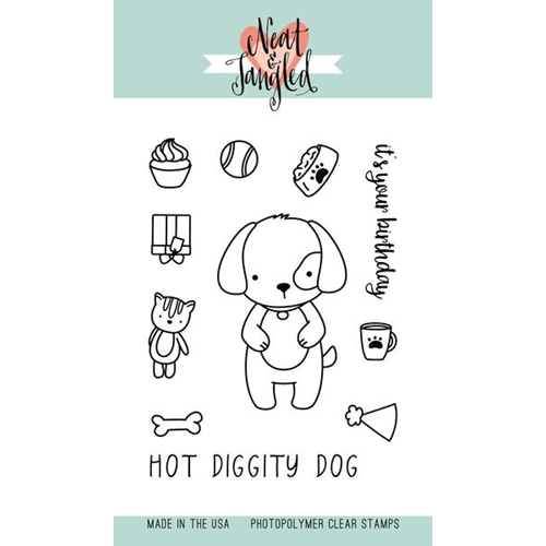 Neat and Tangled PUPPY'S FAVORITE THINGS Clear Stamp Set NAT281* Preview Image