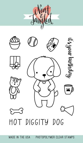 Neat and Tangled PUPPY'S FAVORITE THINGS Clear Stamp Set NAT281* zoom image