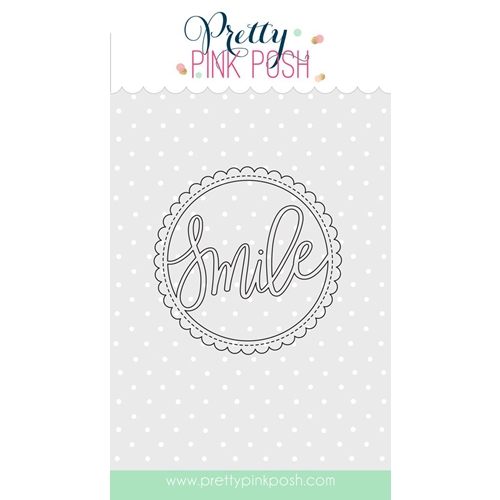 Pretty Pink Posh SMILE SHAKER Die Preview Image