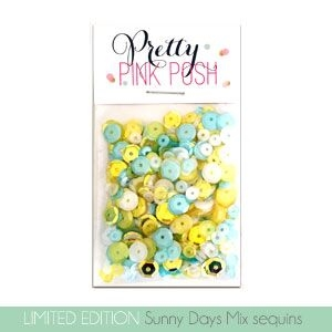 Pretty Pink Posh SUNNY DAYS Mix Sequins Preview Image