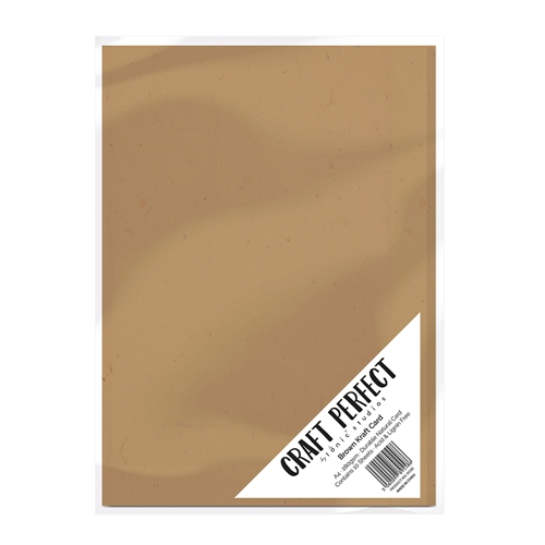 Tonic BROWN KRAFT CARD Craft Perfect Cardstock 9559e Preview Image