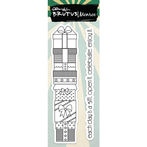 Brutus Monroe STACKED GIFTS Clear Stamps bru4593 Preview Image
