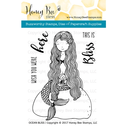 Honey Bee OCEAN BLISS Clear Stamp Set HBST-069* Preview Image