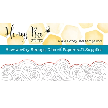 Honey Bee OCEAN BORDER Die HBDS-067