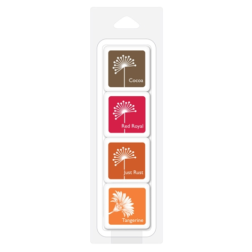 Hero Arts Color Layering Ink Cubes AUTUMN TREES AF407 Preview Image