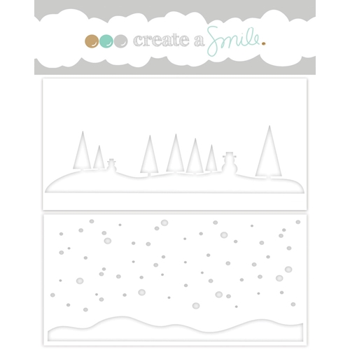 Create A Smile WINTER DAY Stencil SCS20* Preview Image