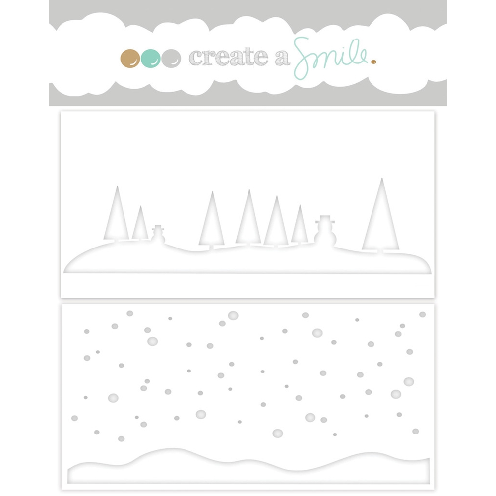 Create A Smile WINTER DAY Stencil SCS20* zoom image
