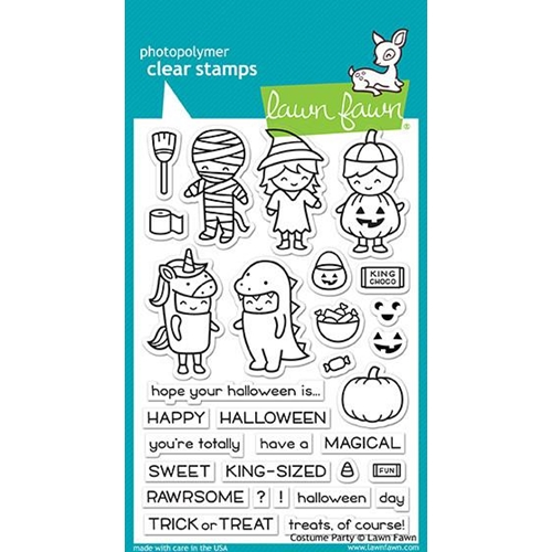 Lawn Fawn COSTUME PARTY Clear Stamps LF1458 Preview Image