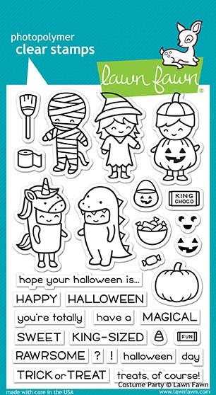 Lawn Fawn COSTUME PARTY Clear Stamps LF1458 zoom image