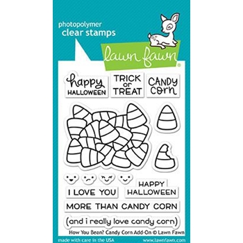 Lawn Fawn HOW YOU BEAN CANDY CORN Clear Stamps LF1460