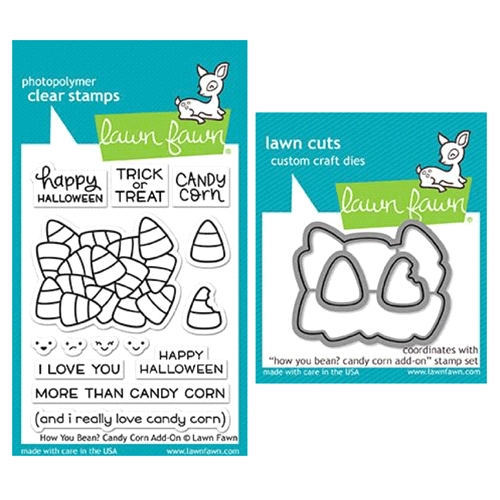 Lawn Fawn SET LF17SETCC HOW YOU BEAN CANDY CORN Clear Stamps and Dies Preview Image