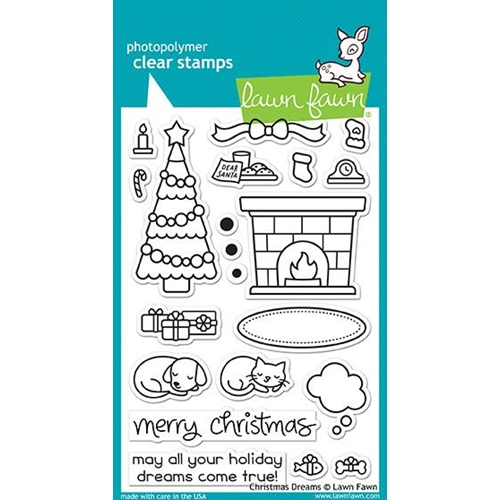 Lawn Fawn CHRISTMAS DREAMS Clear Stamps LF1466 Preview Image