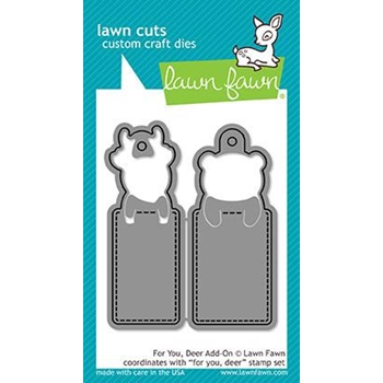 Lawn Fawn FOR YOU DEER ADD-ON Lawn Cuts LF1482