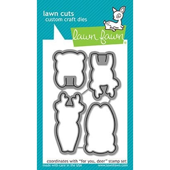 Lawn Fawn FOR YOU DEER Lawn Cuts LF1481