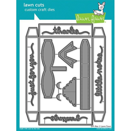 Lawn Fawn GIFT BOX Lawn Cuts LF1484 Preview Image