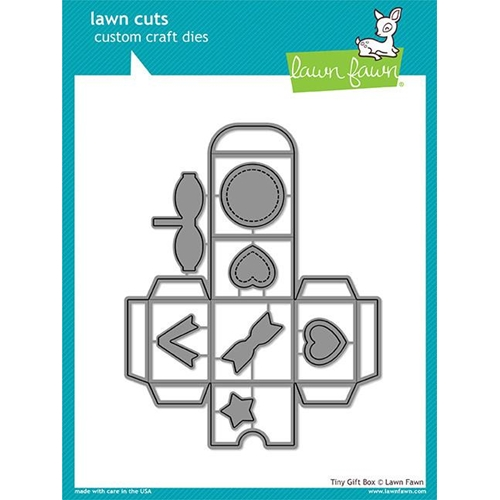 Lawn Fawn TINY GIFT BOX Lawn Cuts LF1485 Preview Image