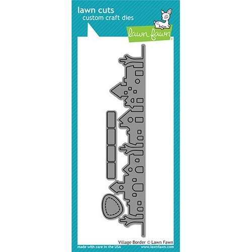 Lawn Fawn VILLAGE BORDER Lawn Cuts LF1489 ** Preview Image