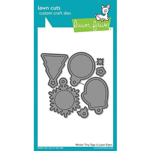 Lawn Fawn WINTER TINY TAGS Lawn Cuts LF1494 Preview Image