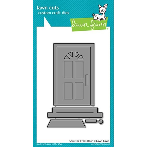 Lawn Fawn SHUT THE FRONT DOOR Lawn Cuts LF1495 Preview Image