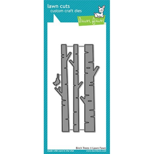 Lawn Fawn BIRCH TREES Lawn Cuts LF1500 Preview Image