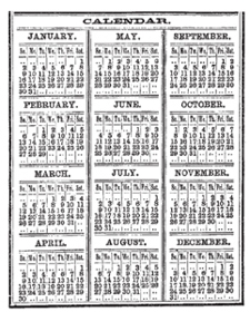 Tim Holtz Rubber Stamp CALENDAR Stampers Anonymous M2-1287 zoom image