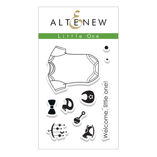 Altenew LITTLE ONE Clear Stamp Set ALT1762 Preview Image
