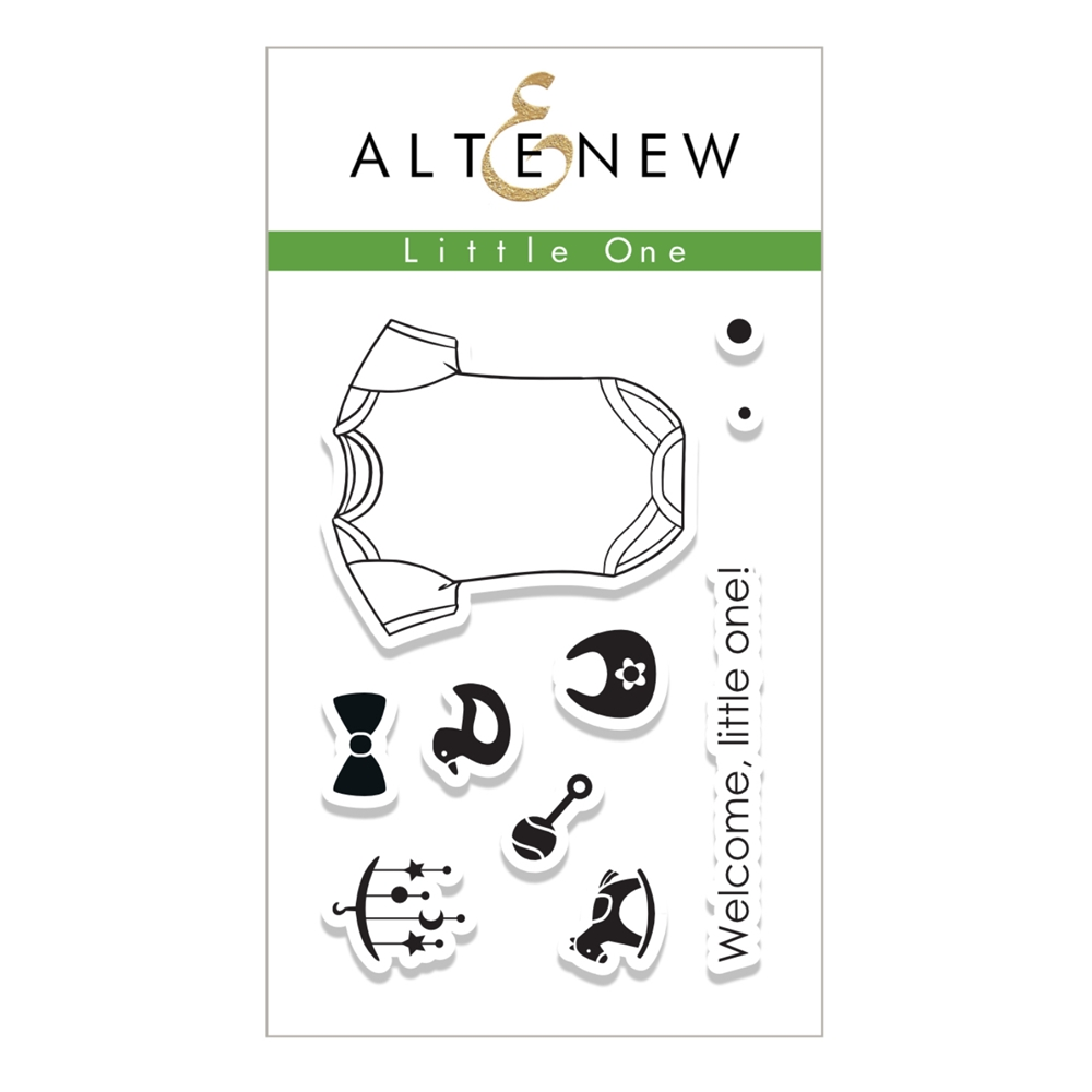 Altenew LITTLE ONE Clear Stamp Set ALT1762 zoom image