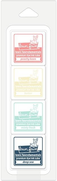 Lawn Fawn ICE CREAM PARLOR Premium Dye Ink Cube Pack LF1531 zoom image