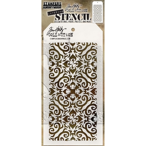 Tim Holtz Layering Stencil FLAMES THS091 Preview Image