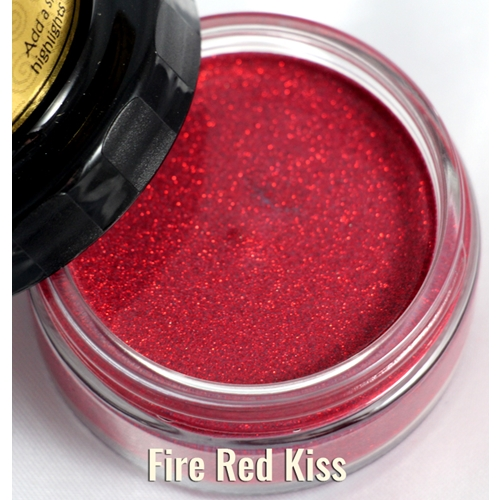 Cosmic Shimmer FIRE RED Glitter Kiss Polish 913916* Preview Image