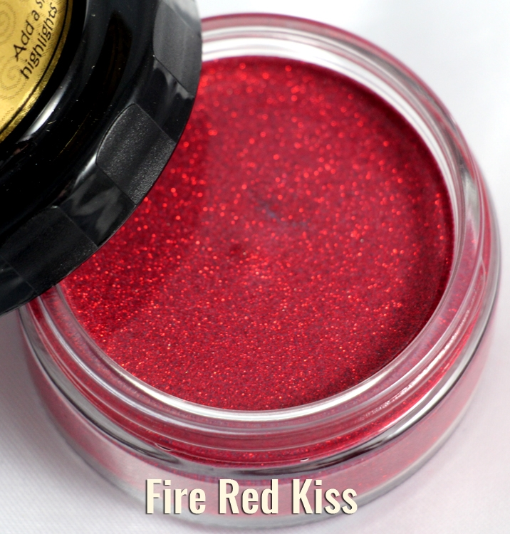 Cosmic Shimmer FIRE RED Glitter Kiss Polish 913916* zoom image