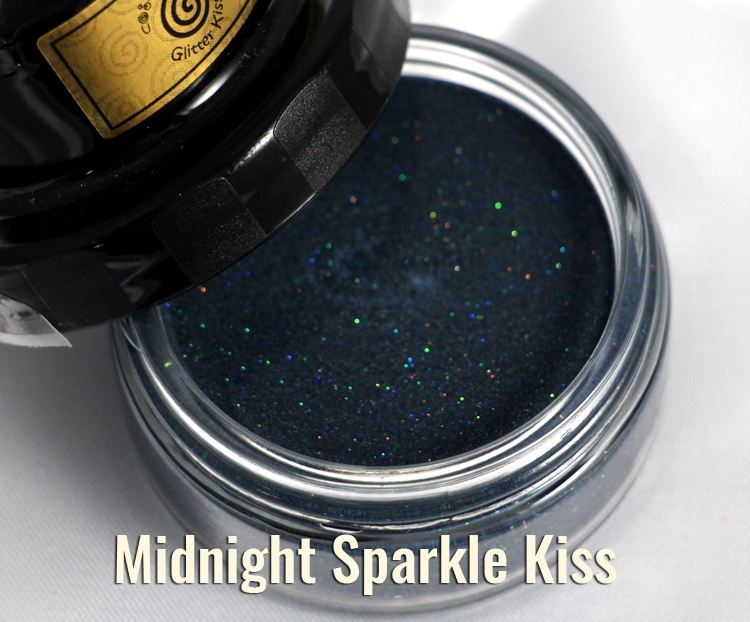 Cosmic Shimmer MIDNIGHT SPARKLE Glitter Kiss Polish 913923 zoom image